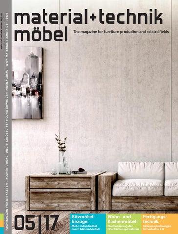 Material + Technik Möbel Ausgabe 05/2017