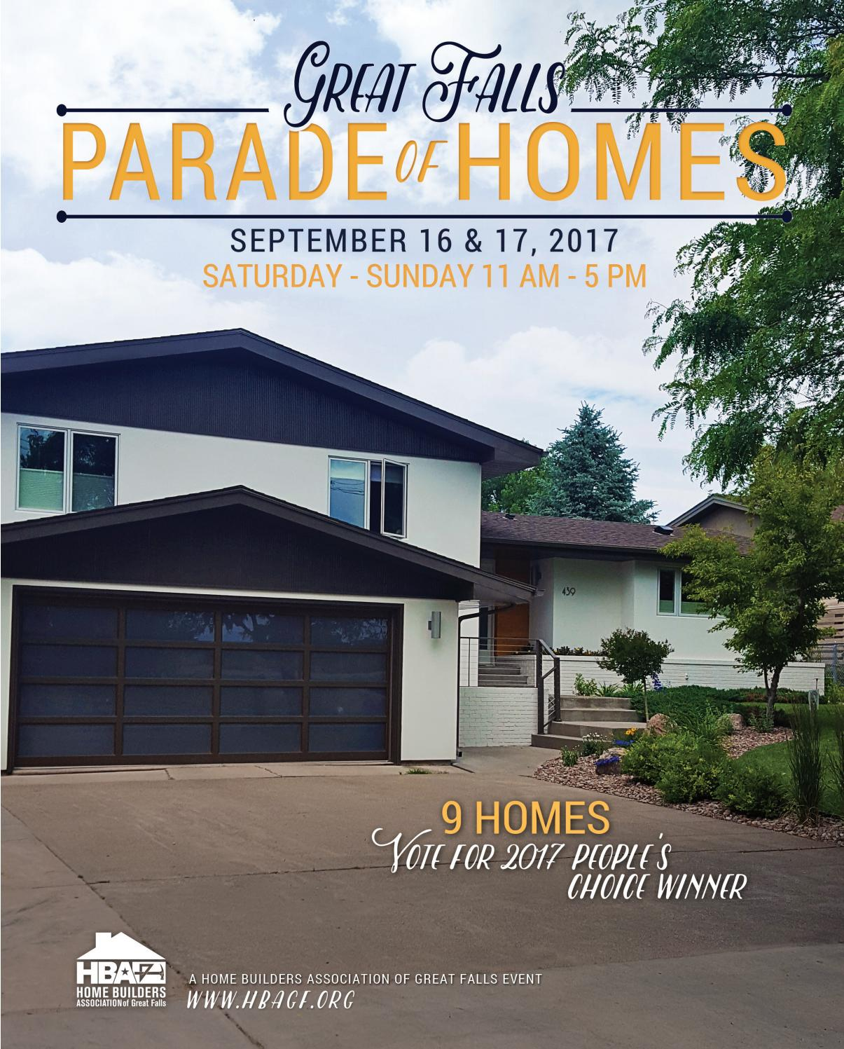 Great Falls Parade Of Homes 2017 By Deanna Johnson Issuu