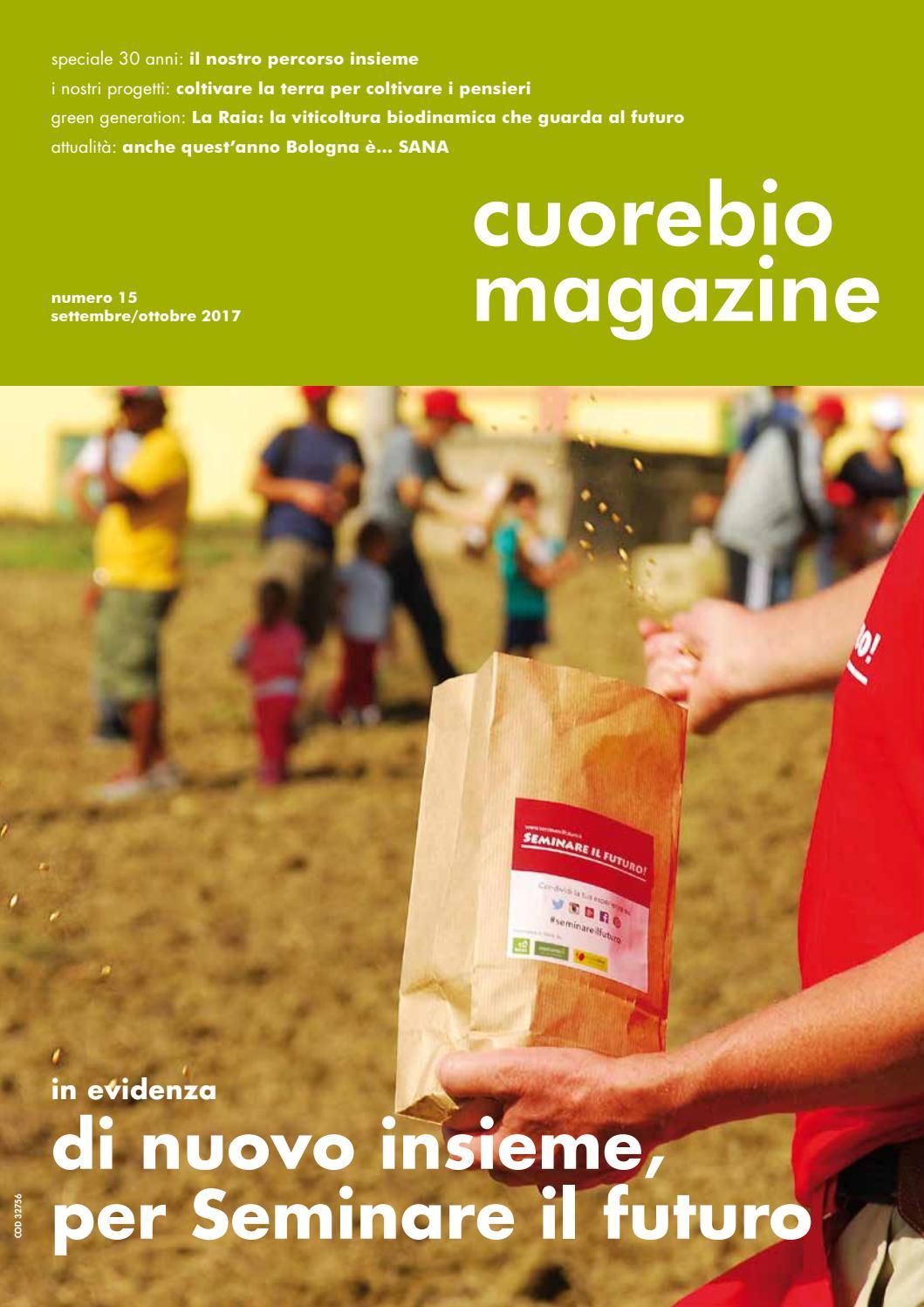 Cuorebio Magazine - Settembre 2017 by EcorNaturasi - issuu 85ea4d4218fa