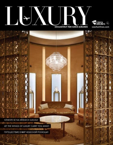 Luxury ČSA 08 2017 by LuxuryGuideCZ - issuu 7011167f9e8
