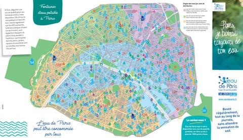 La carte des fontaines à Paris by Francetv Ile de France - issuu