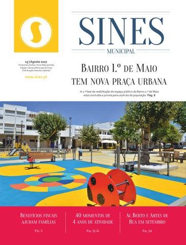 4843f73a52 Sines Municipal 15 (Agosto 2017) by Câmara Municipal de Sines - issuu