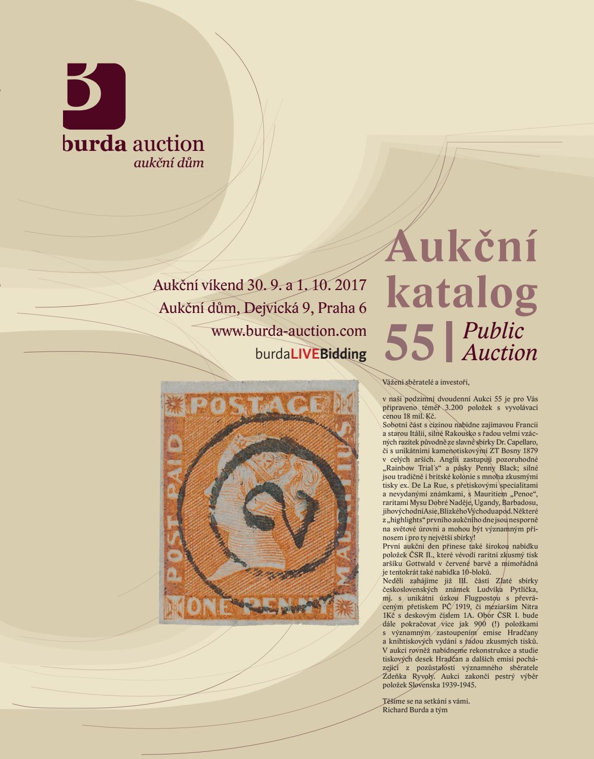 public auction 55 part i by burda auction s r o issuu. Black Bedroom Furniture Sets. Home Design Ideas