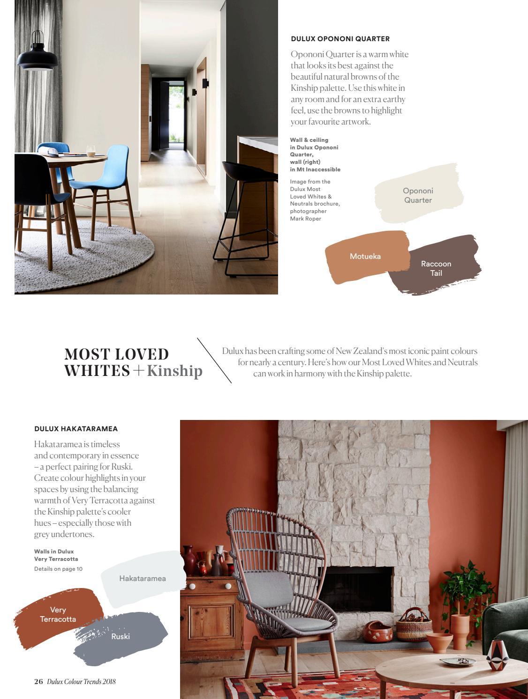 Dulux Colour Trends 2018 Home Edition NZ by Dulux ...