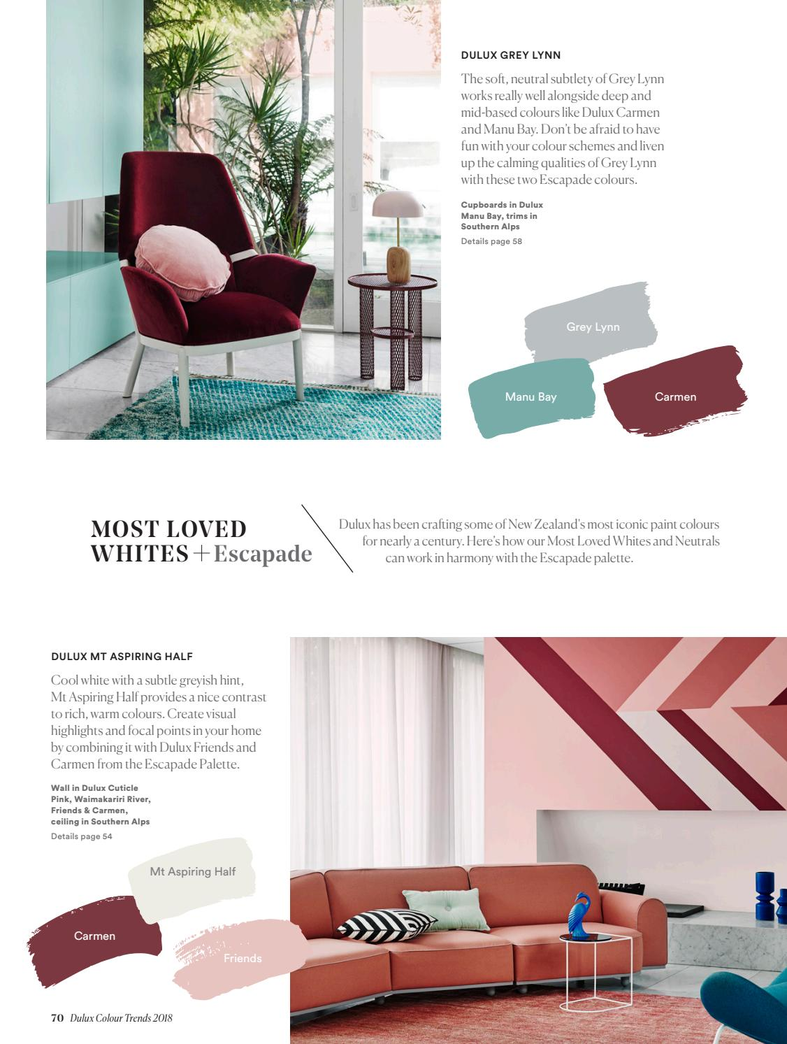 Dulux Colour Trends 2018 Home Edition Nz By Australia