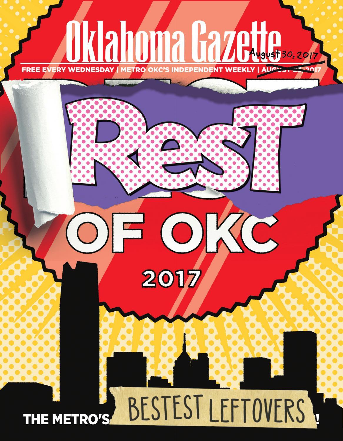 Rest Of Okc 2017 By Oklahoma Gazette Issuu