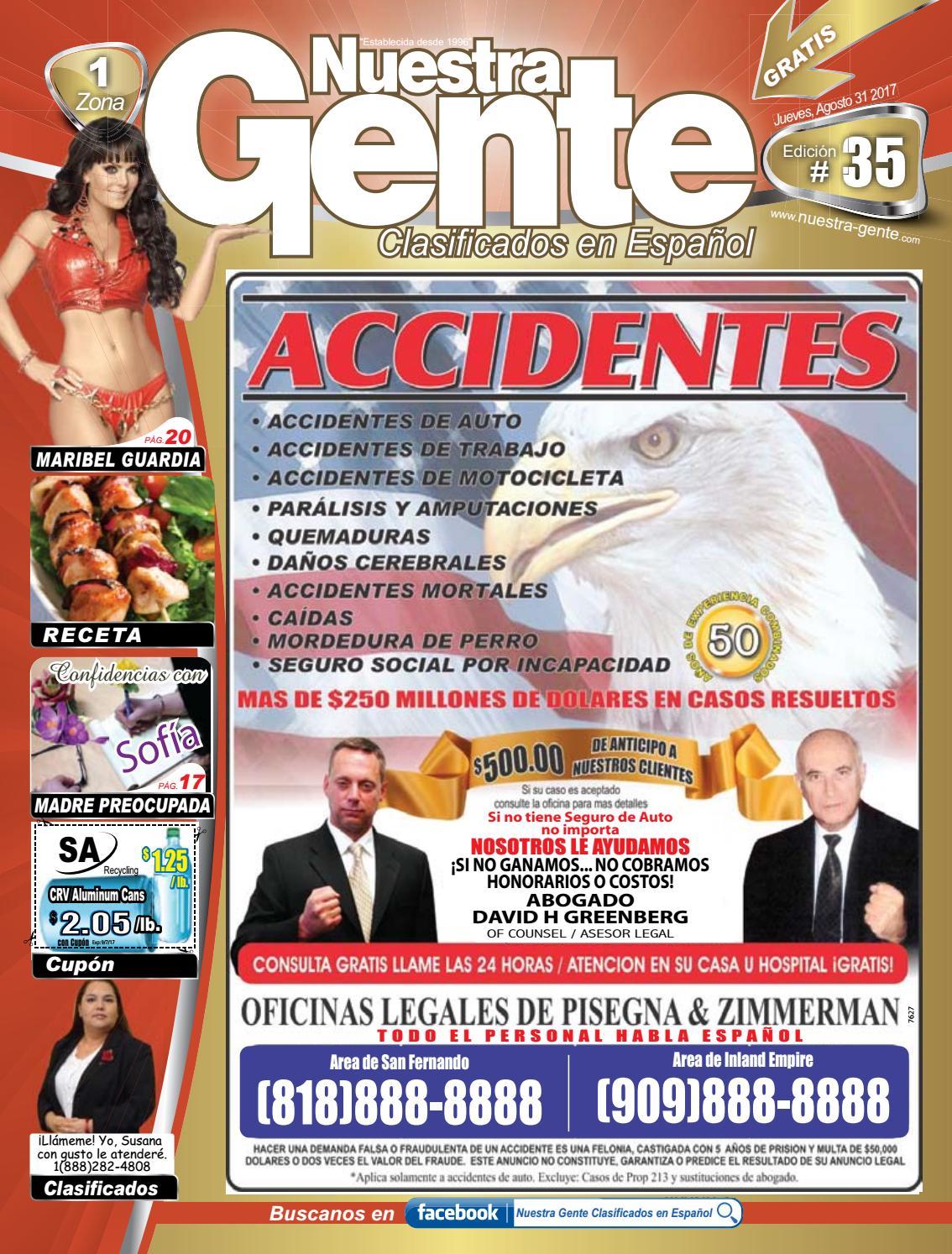 Nuestra Gente 2017 Edicion 35 Zona 1 by Nuestra Gente - issuu
