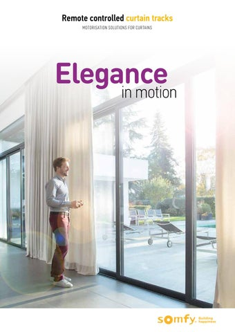 Remote Controlled Curtain Tracks Motorisation Solutions For Curtains