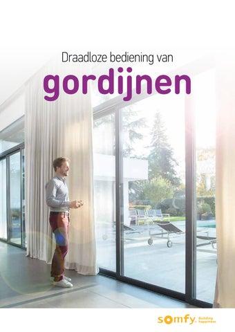Draadloze bediening van gordijnen - Elegantie voor uw interieur (BE ...