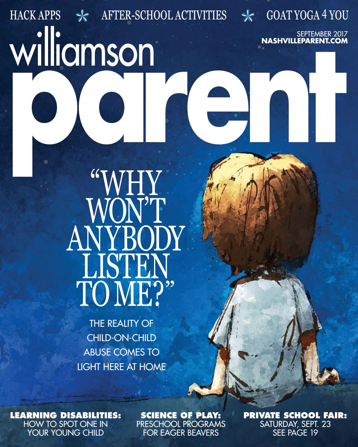 c6abdc40e61db3 Williamson Parent magazine September 2017 by Day Communications/DayCom  Media - issuu
