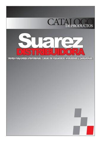 0311057f4 Catalogo agosto 2017 by Suarez Distribuidora - issuu