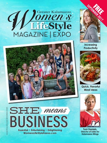 309734ae8aa She Means Business - September 2017 by Women s LifeStyle Kalamazoo ...