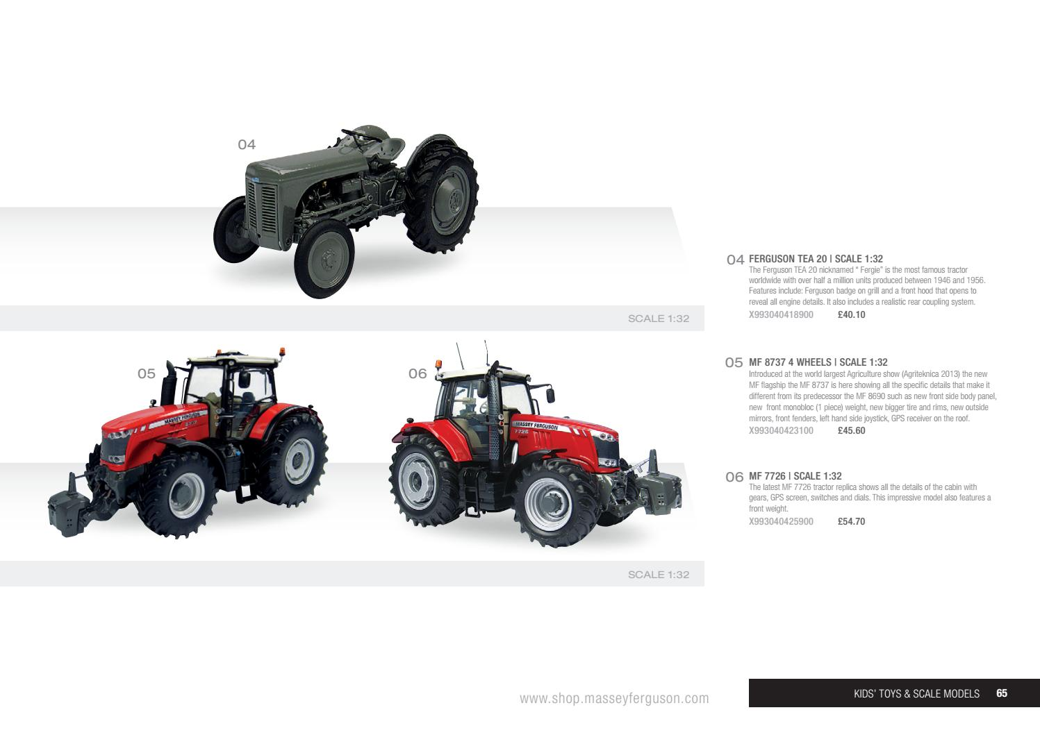 Massey Ferguson Collection 2017-18 (UK)