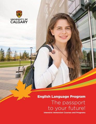 University of Calgary English Language Program 2018 (English) by