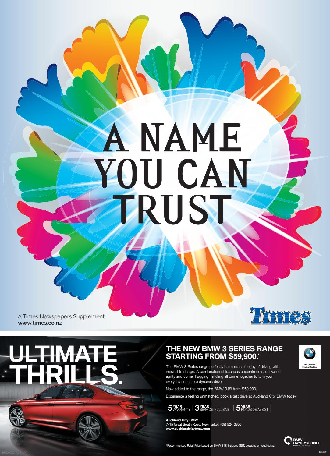 A Name You Can Trust 2017 By Times Media Issuu