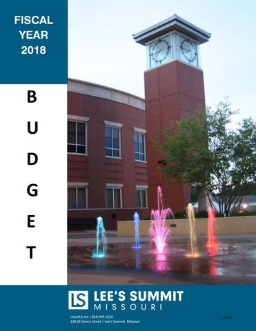 city of lee\u0027s summit fy18 budget by city of lees summit issuuEmail Marketing Tips Archives One Month 347026 #13