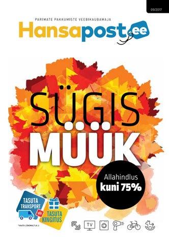 b898b9ba860 Sügismüük/Madratsivahetuse kampaania/Sügismood 09 2017 by Hansapost ...