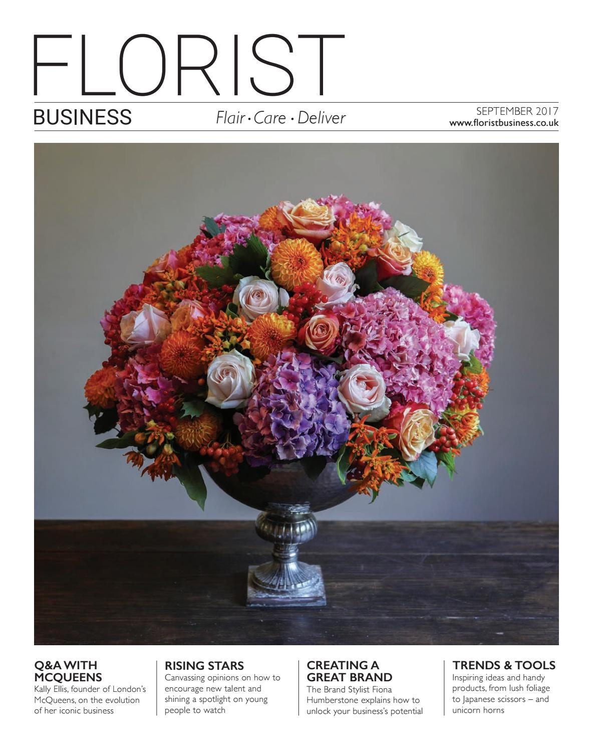 Florist Business September 2017 by Eljays44 - issuu 20aef862bb69