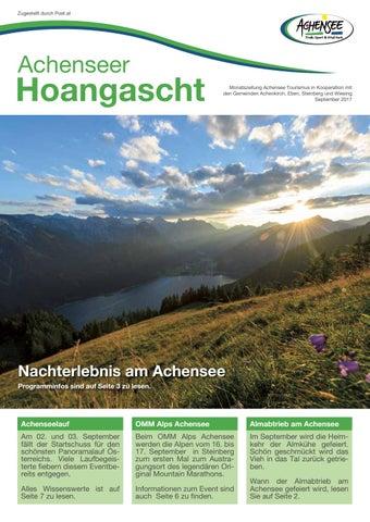 Singles und Kontaktanzeigen aus 6215 Achenkirch. Dating