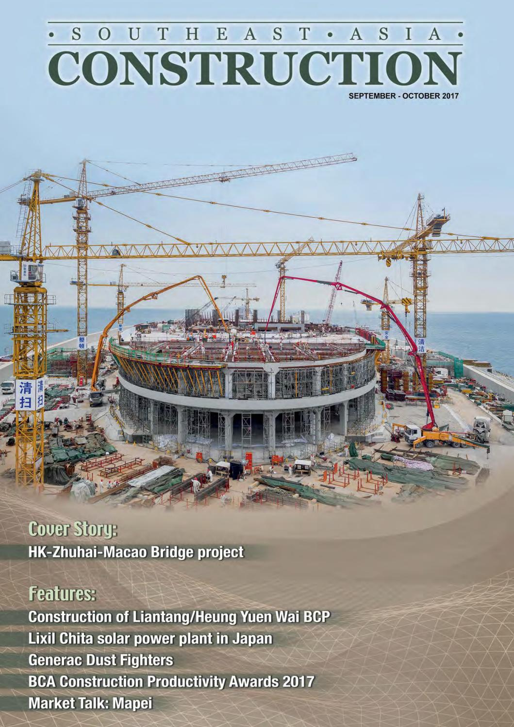Southeast Asia Construction Sep Oct 2017 By Southeast