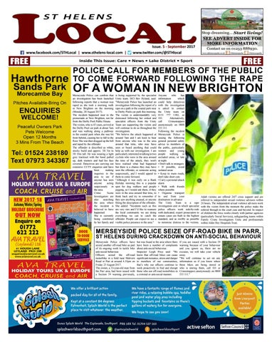 St Helens Local Issue 5 By Lancashire Local Issuu