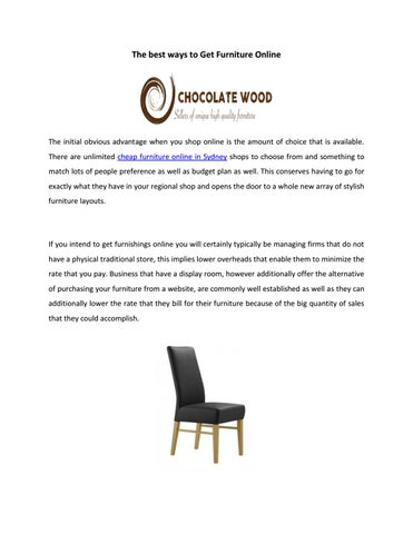 page 1 the best ways to get furniture online
