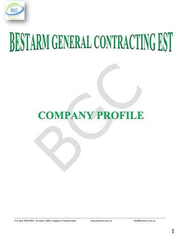 BestArm Company Profile by Jeddah Web - issuu