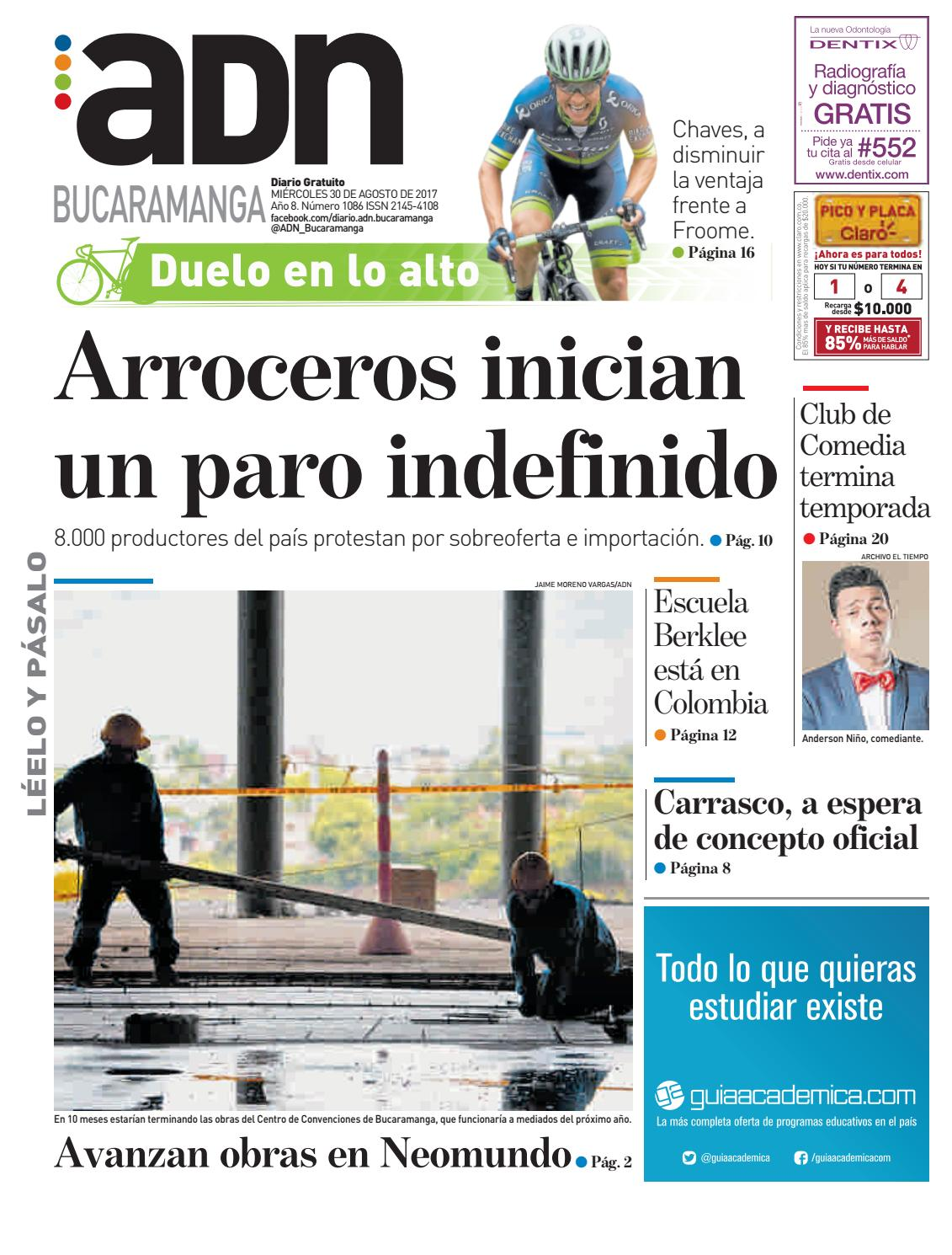 Adn bucaramanga by diarioadn.co - issuu