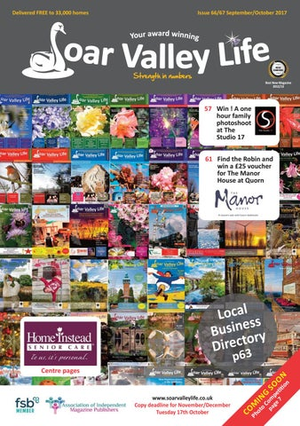 Issuu 3 soar valley sept oct 2017 by Soar Valley Life - issuu 14a7f0b96