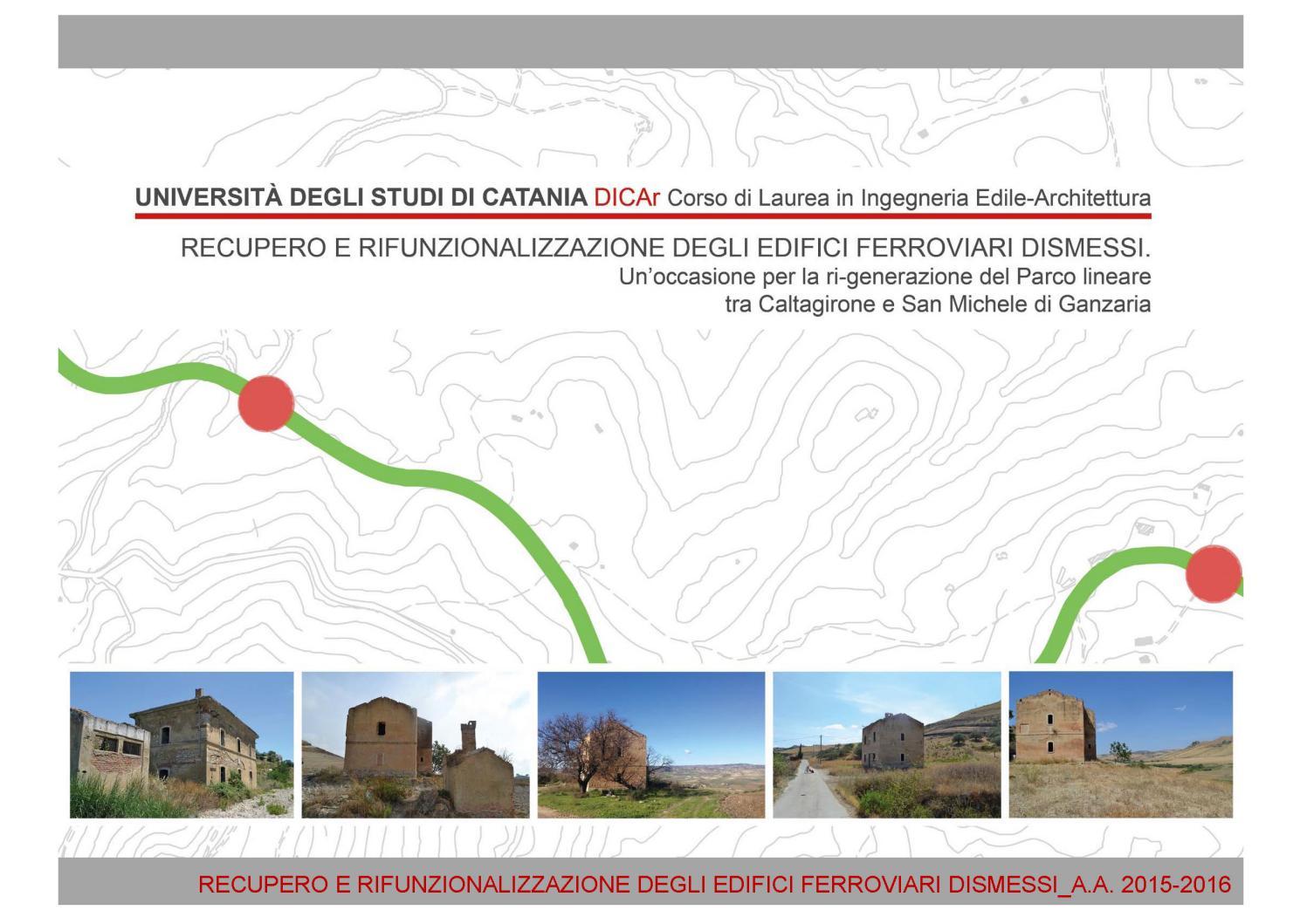 Raccolta Ferro Vecchio Catania recupero e rifunzionalizzazione degli edifici ferroviari
