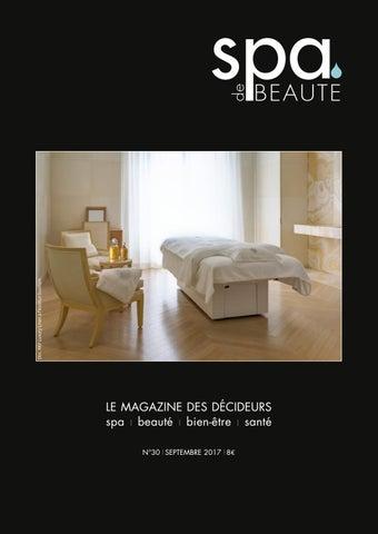 Spa De Beaute 30 Septembre 2017 By Les Nouvelles Esthetiques