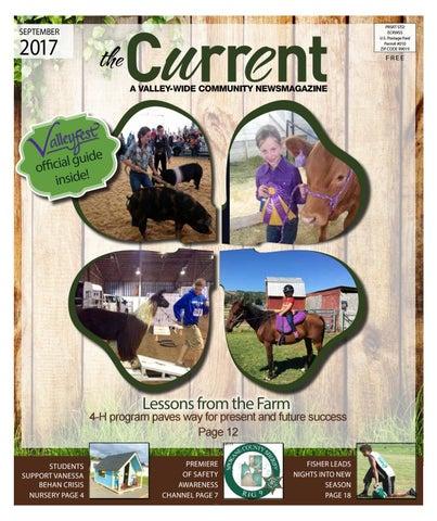September 2017 current by the current issuu prsrt std ecrwss us postage paid permit 010 zip code 99019 fandeluxe Choice Image