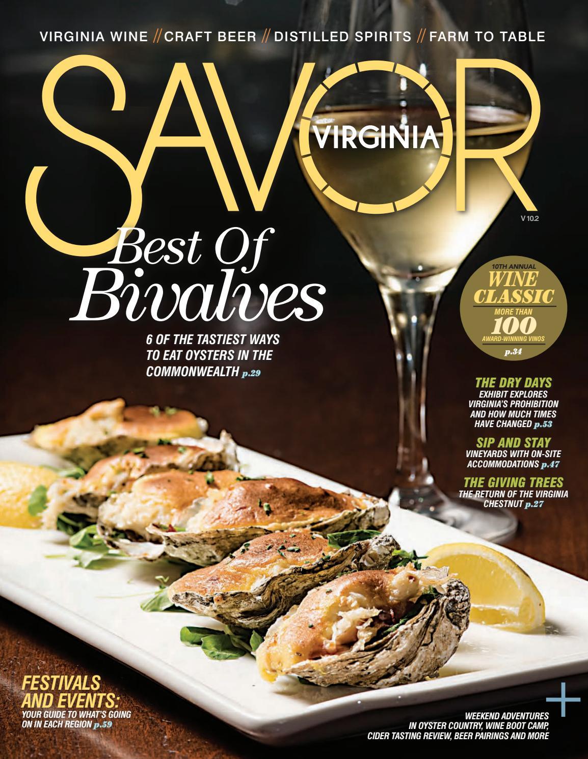 Savor Virginia Fall/Winter 2017-2018 by VistaGraphics - issuu