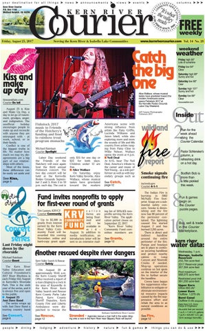 Kern River Courier August 25, 2017 by Kern River Courier - issuu