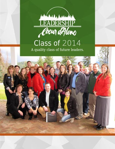 Leadership Yearbook 2014 by Coeur d\'Alene Chamber of Commerce - issuu