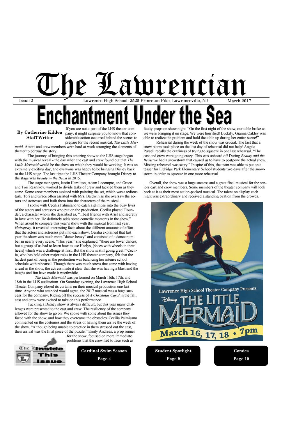 05cf27c0bd The Lawrencian Issue 2 Winter 2017 by The Lawrencian - issuu