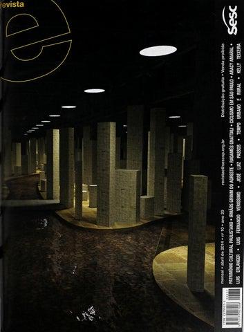 Revista E - Abril de 2014 - ANO 20 - Nº 10 by Sesc em São Paulo - issuu 8a66cf6a3bb