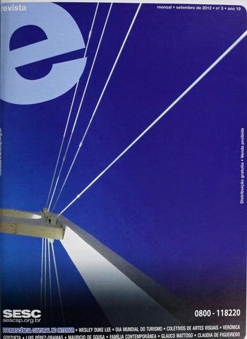 f1b05c6f8 Revista E - Setembro de 2012 - ANO 19 - Nº 3 by Sesc em São Paulo ...