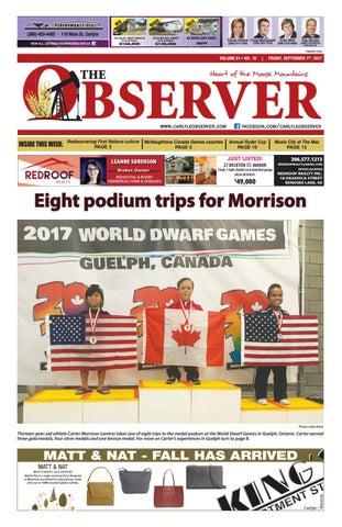 Carlyle Observer Sept 1 2017