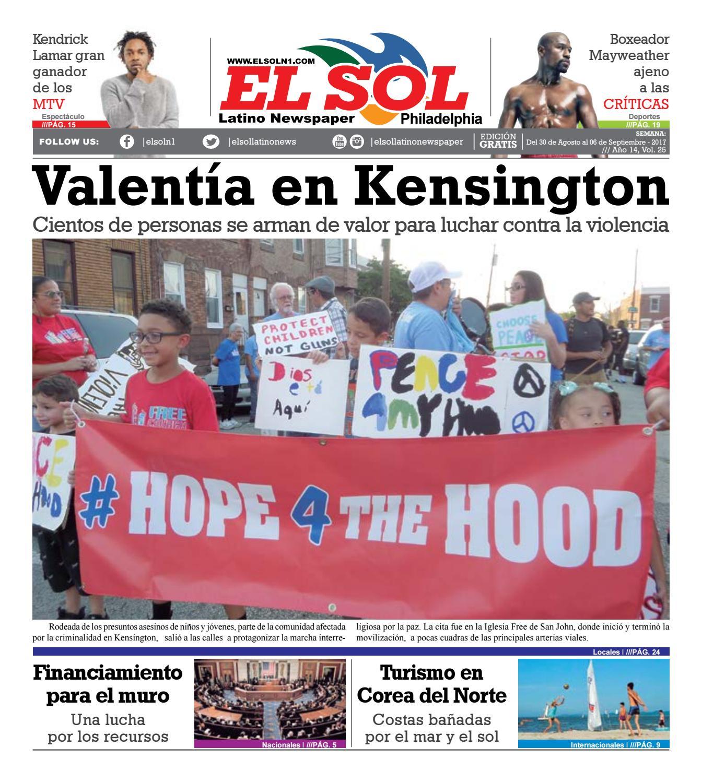 El Sol Philadelphia Vol25#25 Agosto 30-2017 by El Sol Latino ...