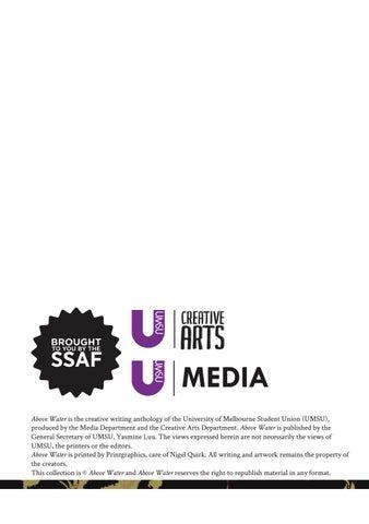 melbourne university creative writing