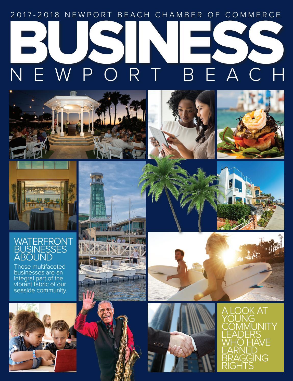 0e52258a4e BUSINESS Newport Beach 2017-2018 by Chamber Marketing Partners, Inc. - issuu