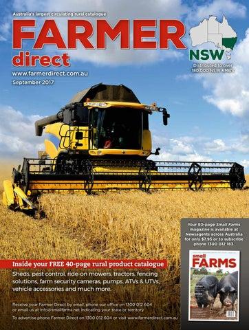 Farmer Direct NSW September 2017 by McPherson Media Group