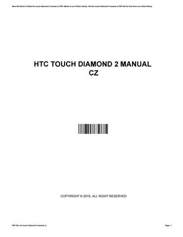 htc touch diamond 2 manual cz by jamestaylor2027 issuu rh issuu com Sprint HTC Touch Diamond HTC Touch Diamond PL