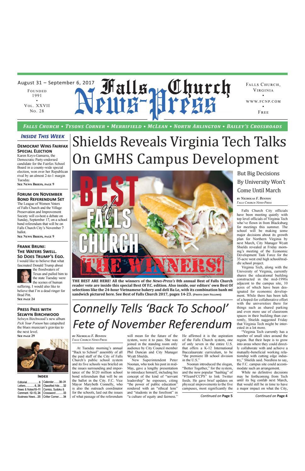 Falls Church News Press 8 31 2017 By Falls Church News Press Issuu