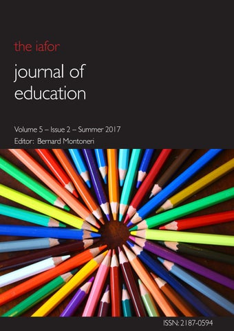 IAFOR Journal of Education Volume 5 Issue 2 by IAFOR - issuu