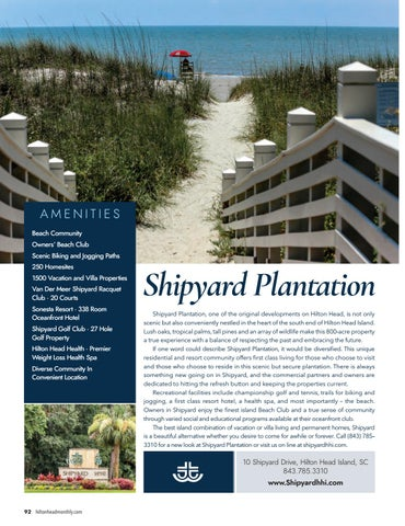 Hilton Head Monthly September 2017 By Hilton Head Monthly Issuu