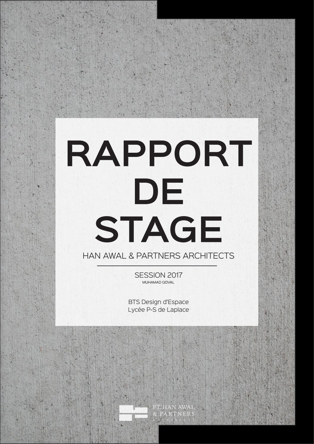 Rapport De Stage By Qoval Muhamad Issuu