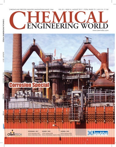 CEW August 2017 by Chemical Engineering World - issuu