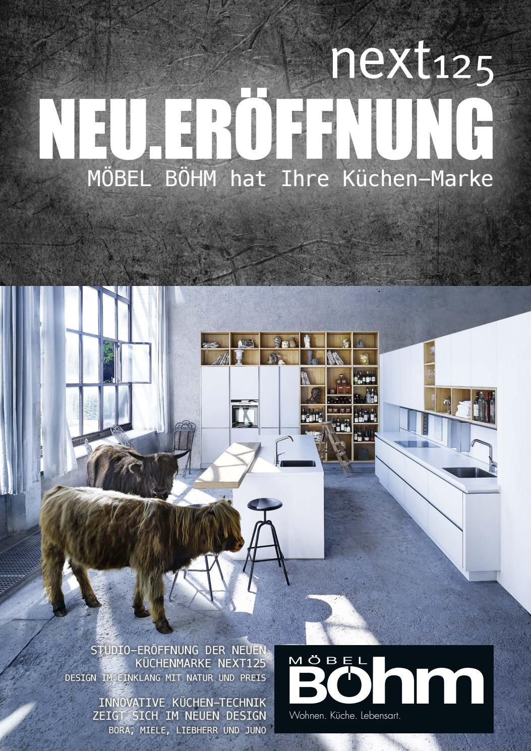 boehm neueroeffnung next125 by perspektive werbeagentur issuu. Black Bedroom Furniture Sets. Home Design Ideas